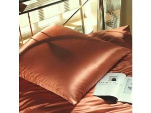 Silk pillowcase, Lighter silk - TERRACOTTA / 22 momme (mm)