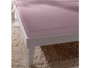 Silk fitted sheet, Lighter silk - MALLOW / 22 momme (mm)