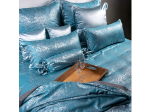 PALAU Silk Bed linen - Thicker Jacquard silk
