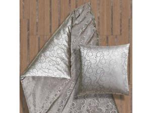 AMADEUS GRIGIO Silk Bed linen - Lighter Jacquard silk / 22 momme (mm)