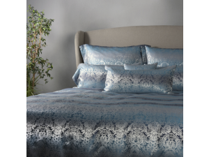 OCEAN Silk Bed linen - Heavy Jacquard silk / 31 momme (mm)