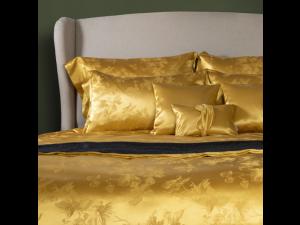 ADA GOLD Silk Pillowcase - Jacquard Thicker silk / 31 momme (mm)