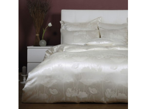 ANGELO BIANCO Silk Pillowcase - Jacquard Thicker silk / 28 momme (mm)