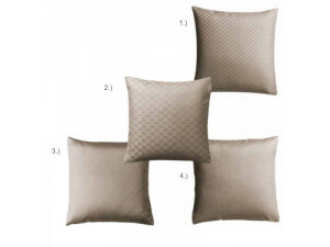 BARCELONA BEIGE Silk Pillowcase - Jacquard Lighter silk / 22 momme (mm)