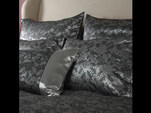 BLACK JOY Silk Pillowcase - Jacquard Thicker silk / 31 momme (mm)