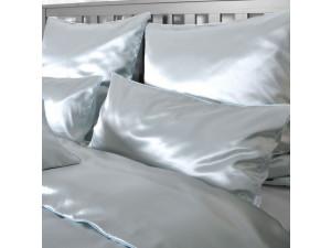 Silk pillowcase, Thicker silk - BLUE / 28 momme (mm)