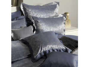 MOMENTO BLU Silk Pillowcase - Jacquard Thicker silk / 31 momme (mm)