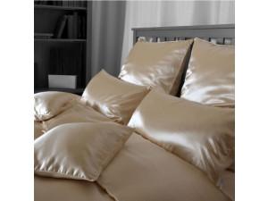 Silk pillowcase, Thicker tussah silk - NATURAL / 27 momme (mm)