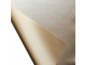 Silk tussah satin fabric, thicker silk, NATURAL / 27 momme (mm)