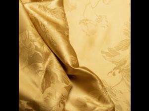 Silk Jacquard Fabric, thicker silk, ADA GOLD, width 280 cm