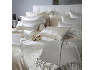 HERITAGE Silk Flat sheet - Medium Heavy Jacquard silk / 28 momme (mm)