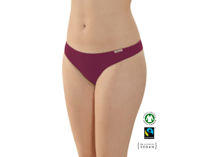 ECO Cotton Women's string panties /bodyfit