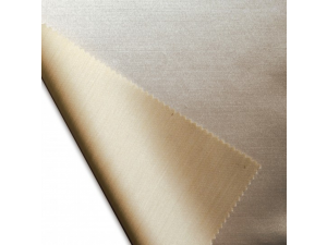 Silk flat sheet, Thicker tussah silk - NATURAL