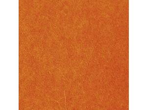 Wool Felt - ORANGE  - width 45 cm, thickness cca 3 mm