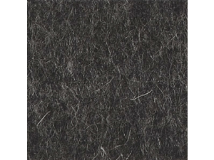 Wool Felt - MOTTLED ANTHRACITE - width 180 cm, thickness cca 1,5 mm