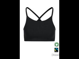 ECO Cotton Women's Non-wired Bra /bodyfit - BLACK