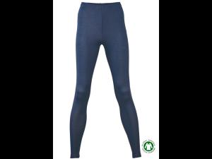BIO-Merino Silk Women's  Leggins, BLUE