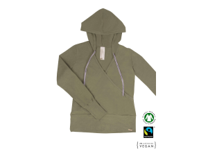 ECO Cotton Women's hoodie /c yoga