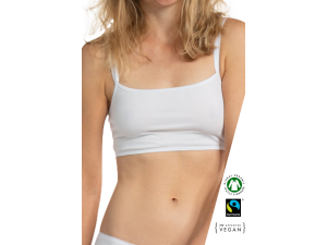 ECO Cotton Women's Non-wired Top Bra /bodyfitelegance