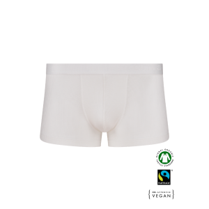 BIO Cotton Men's low boxer pants - WHITE