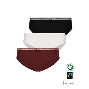 ECO Cotton Women's jazz panties /simplepack - 3 Pair