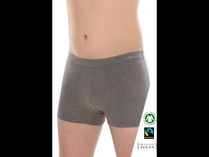 BIO Cotton Men's low boxer pants - ANTHRACITE