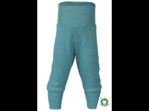 BIO Merino-Silk Baby Pants - TURQUOISE - size 50/56 to 86/92
